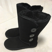 WOMEN'S UGG BOOTS HTB1 3 BUTTON BLACK