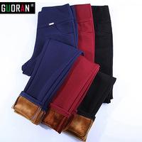 WOMEN'S VELVET PANTS HTB1 RED