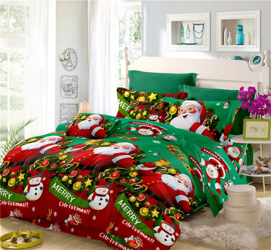 CHRISTMAS BED SETS HTB1 GREEN