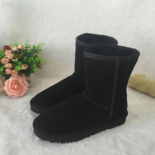 WOMEN'S HALF UGG BOOTS HTB1 BLACK