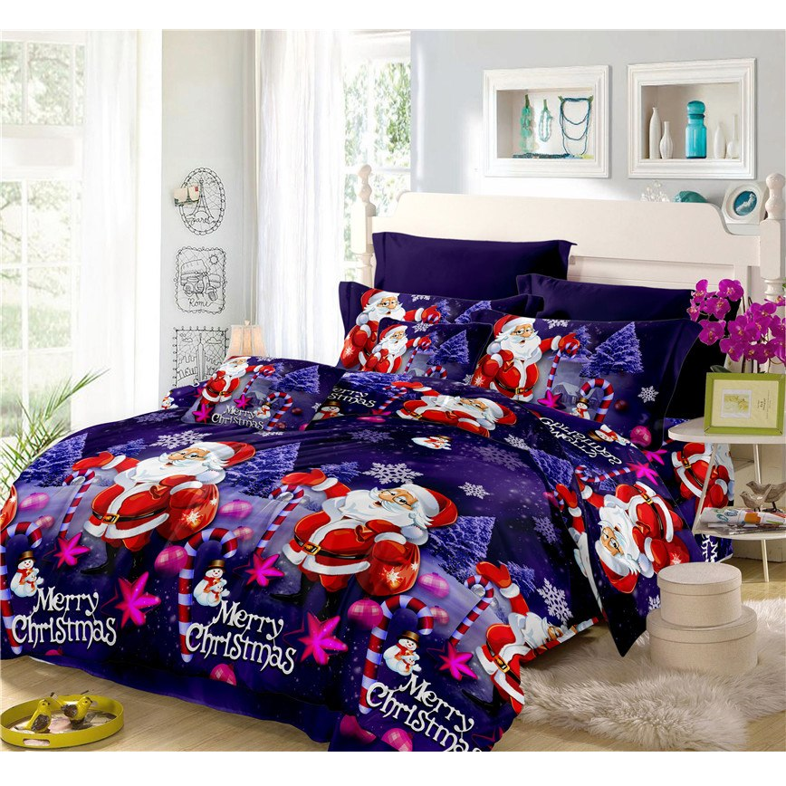 CHRISTMAS BED SETS HTB1 BLUE