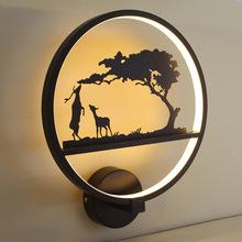 NORDIC DEER LAMP