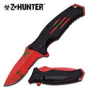 Z HUNTER LOCK BLADE KNIFE ZB-111BR