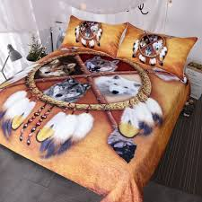 WOLF BED SETS HTB1 DREAM CATCHER