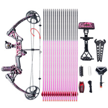 WOMEN'S PINK COMPOUND BOW