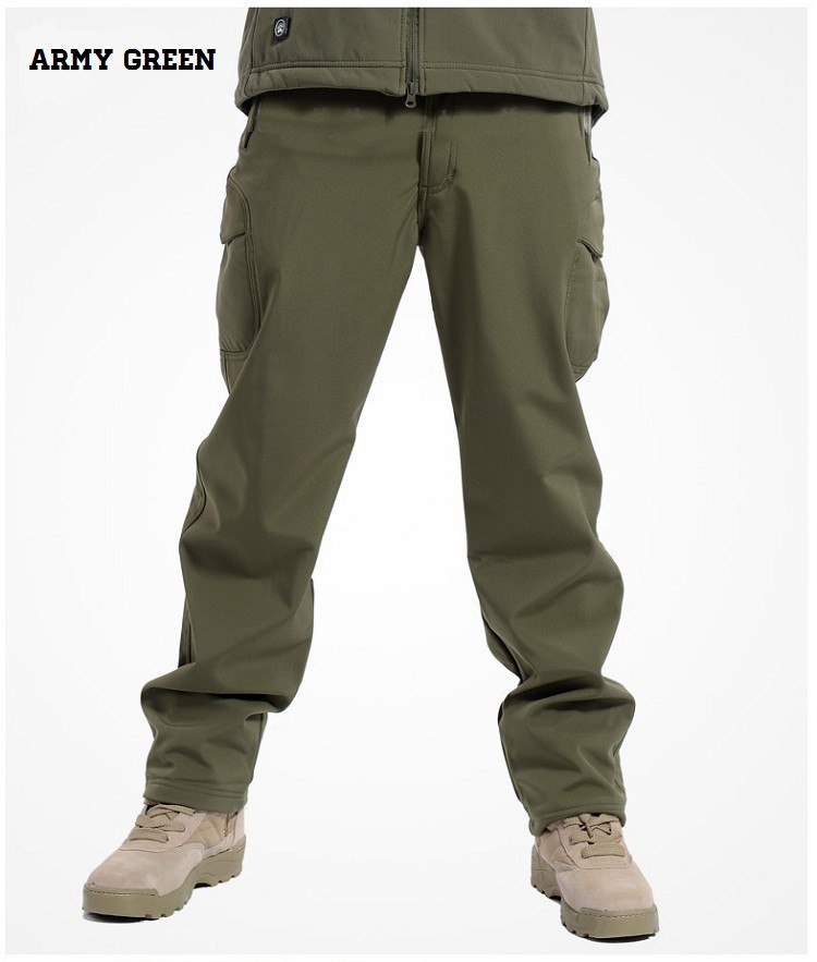 GREEN MEN'S TACTICAL PANTS