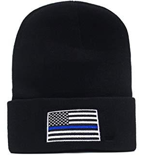 THIN BLUE LINE HAT HTB1 BLUE FLAG