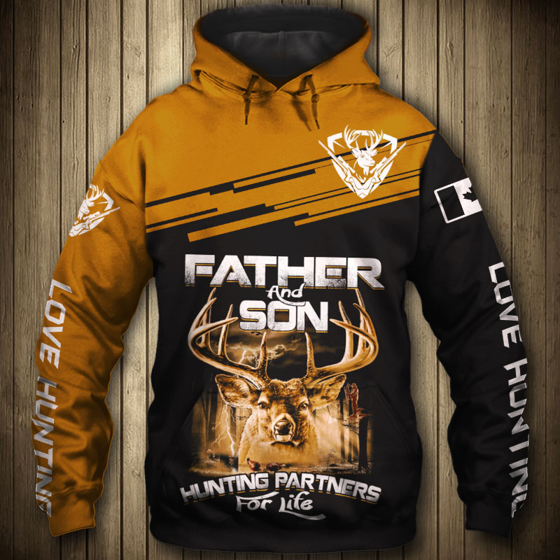 FATHER & SON HUNTING HOODIE HTB1 2
