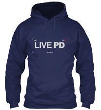 LIVE PD HOODIE HTBL BLUE