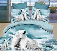 POLAR BEAR BED SET HTB1 BLUE