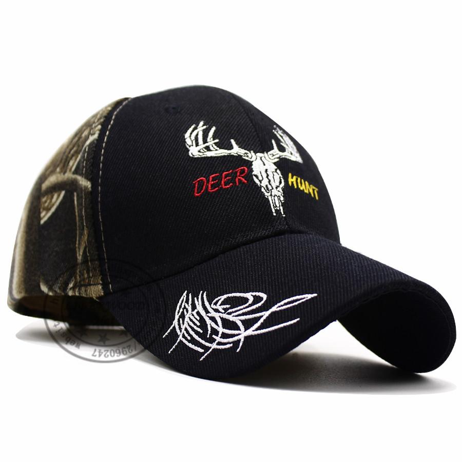 CAMO DEER CAP HTB1 BLACK