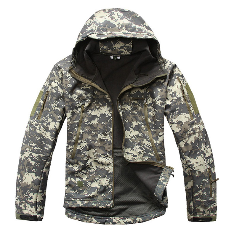 MEN'S TACTICAL JACKET HTB1 ACU CAMO