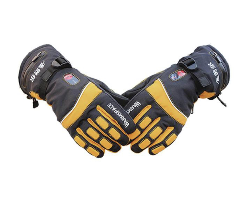 HEATED GLOVES HTB1 YELLOW