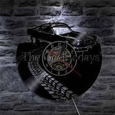 MUSTANG WALL CLOCK  HTB1 CAR
