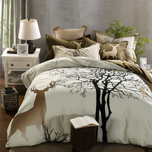 WHITETAIL DEER TREE BED SETS