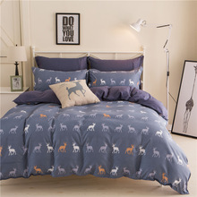 WHITETAIL BLUE GREY BED SETS