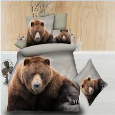 BROWN BEAR BED SET HTB1 GRIZZLY
