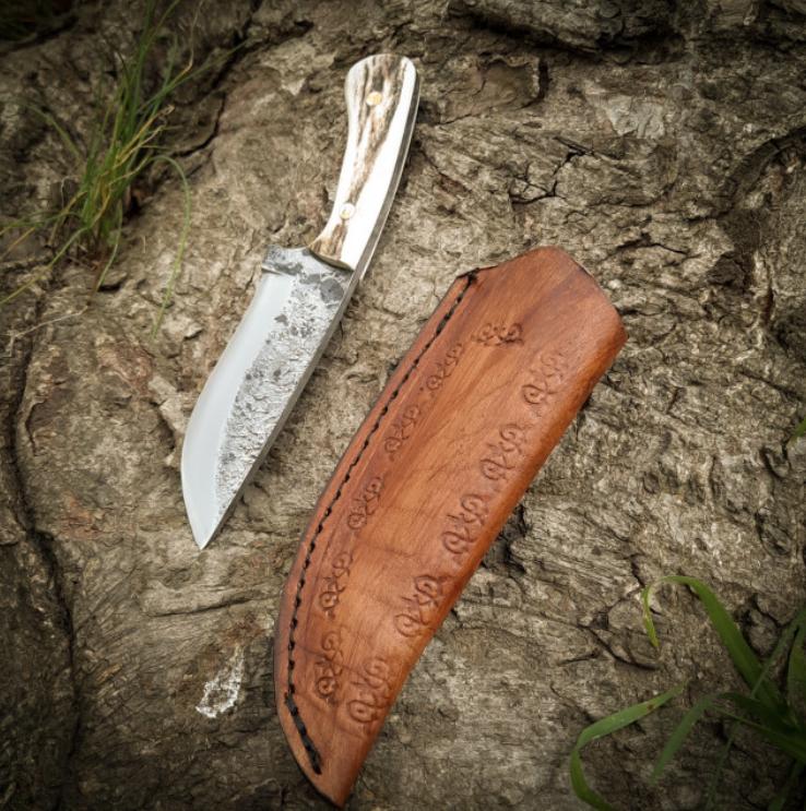 BUSHCRAFT HUNTING KNIFE HTB1 WHITE