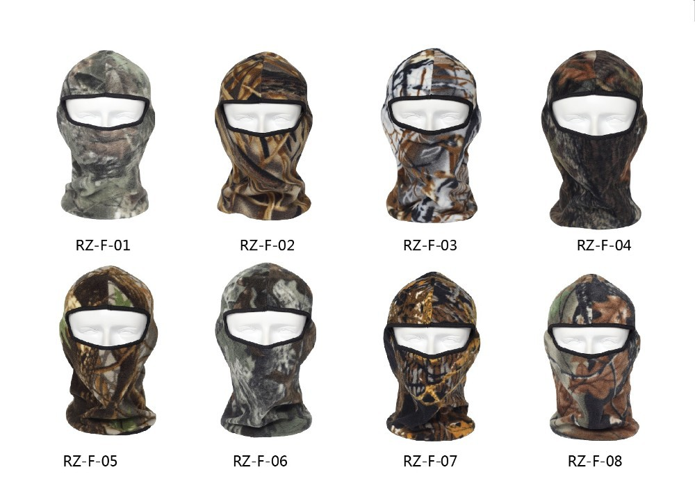 CAMO FLEECE BALACLAVA