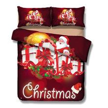 CHRISTMAS SANTA BED SET
