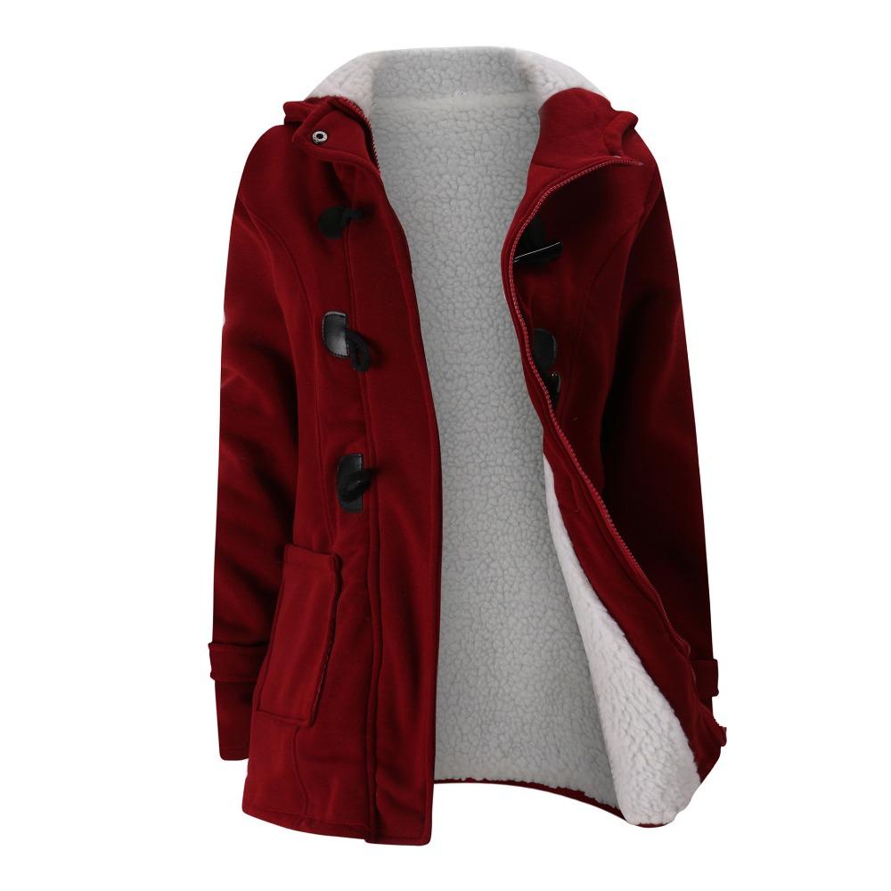 WOMEN'S COATS HTB1 RED