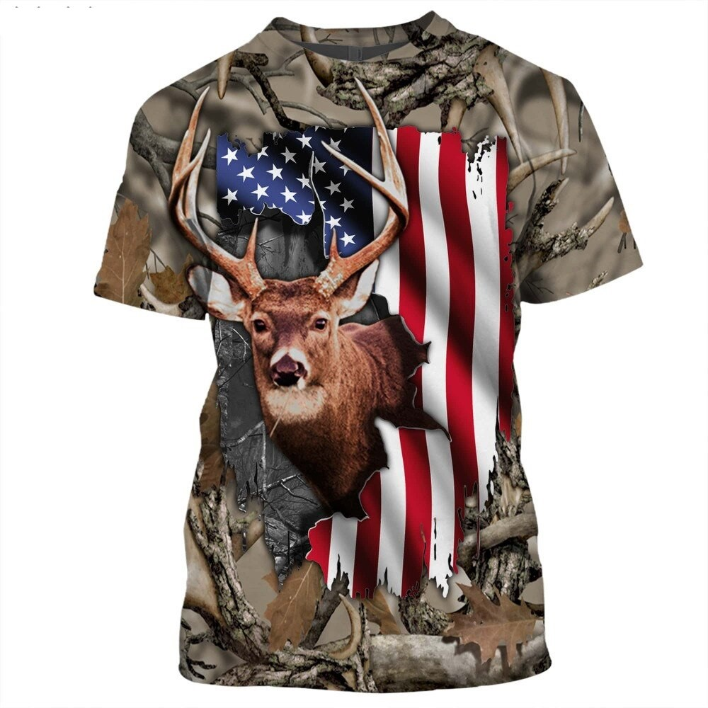 DEER FLAG T-SHIRT HTB1 FLAG 2