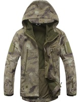 MEN'S TACTICAL JACKET HTB1 MULTI GREY GREEN CAMO