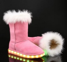 CHILDREN'S LED UGG BOOTS HTB1 PINK