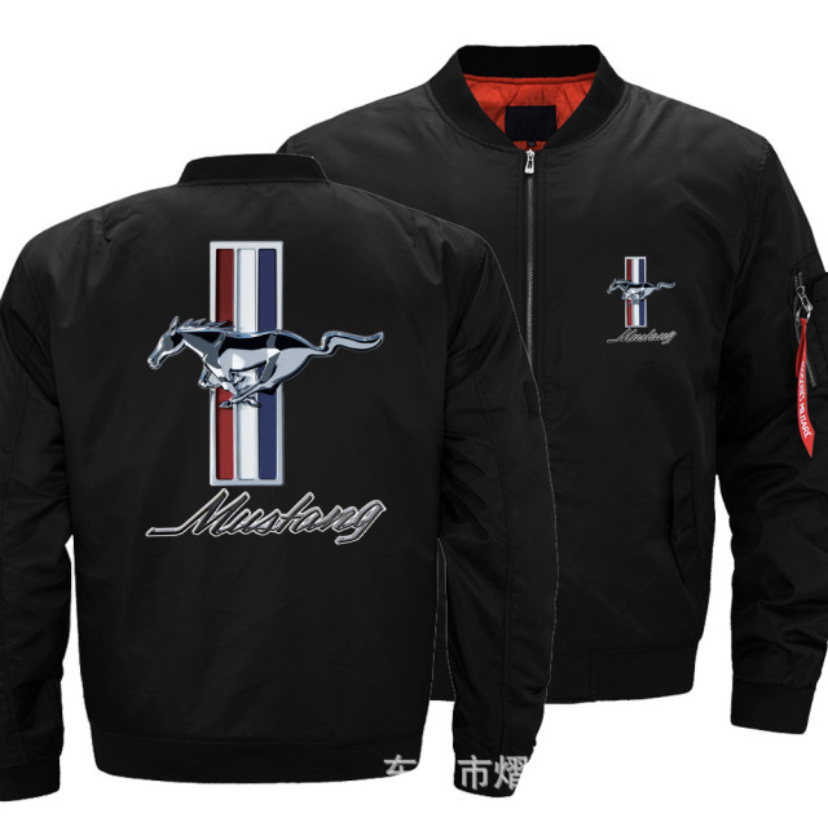MUSTANG JACKET HTB1 BLACK
