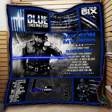 POLICE BLANKET  HTB1 BLUE