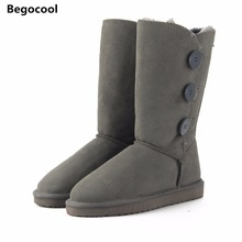 WOMEN'S UGG BOOTS HTB1 3 BUTTON GREY
