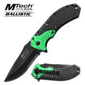MTECH LOCK BLADE KNIFE MT-A885GN