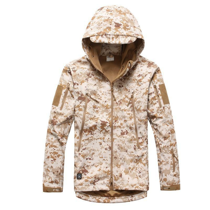 MEN'S TACTICAL  JACKET HTB1 DESERT CAMO