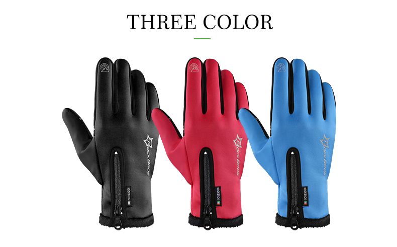 WARM CYCLING GLOVES HTB1 RED
