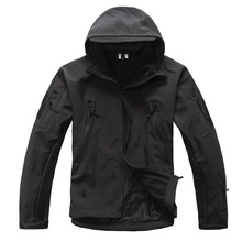 MEN'S TACTICAL JACKET  HTB1 BLACK