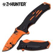 Z HUNTER LOCK BLADE KNIFE ZB-111BO