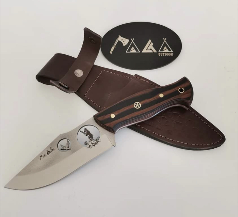 DUCK HUNTING KNIFE HTB1 BROWN 3