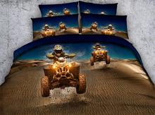 3D ATV BED SET TWIN