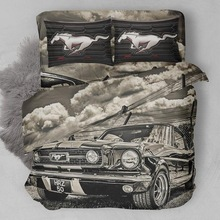 3D FORD MUSTANG BED SETS