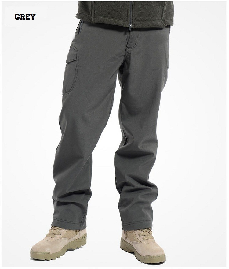 GRAY MEN'S TACTICAL PANTS