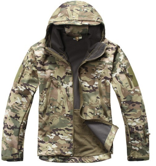 MEN'S TACTICAL  JACKET HTB1 MULTI CAMO