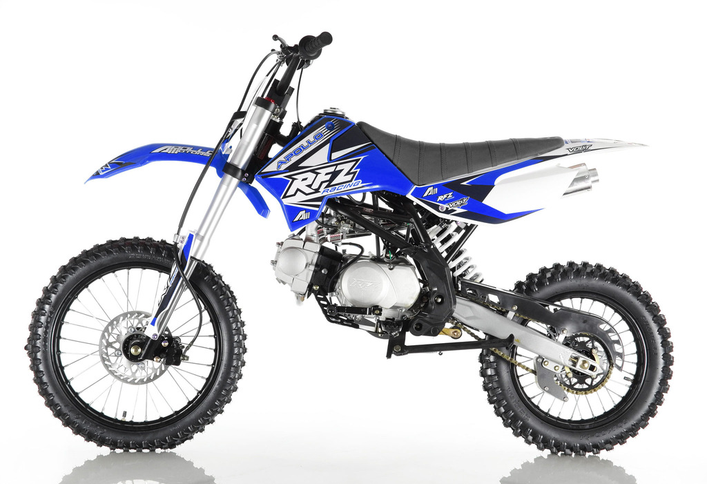 APOLLO 125 DIRT BIKE BLUE