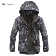 MENS TACTICAL JACKET HTB1 BLACK SNAKE