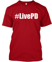 LIVE PD T-SHIRT HTB1 RED