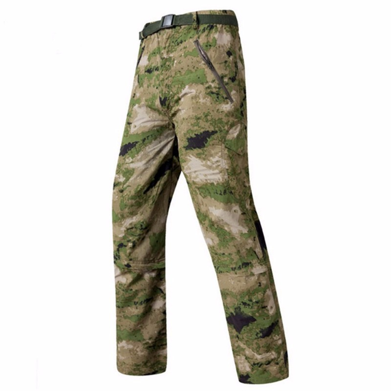 MEN'S TACTICAL PANTS HTB1 GREEN CAMO