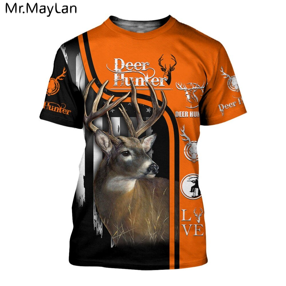 HUNTING DEER T-SHIRT HTB1 BUCK 1