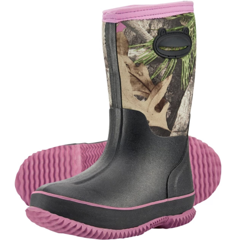 KIDS HUNTING BOOTS HTB1 PINK