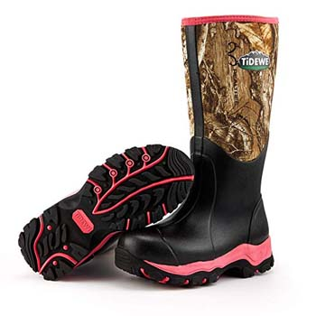 WOMEN'S HUNTING BOOTS HTB1 PINK