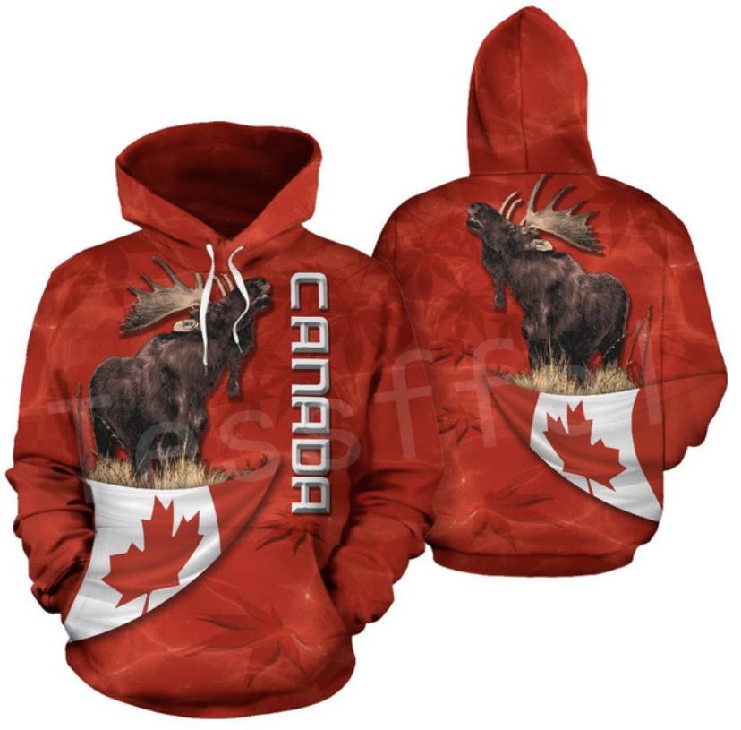 MOOSE HUNTING HOODIE HTB1  CANADA  1