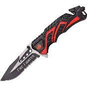 MTECH FIRE FIGHTER KNIFE MTA865FD